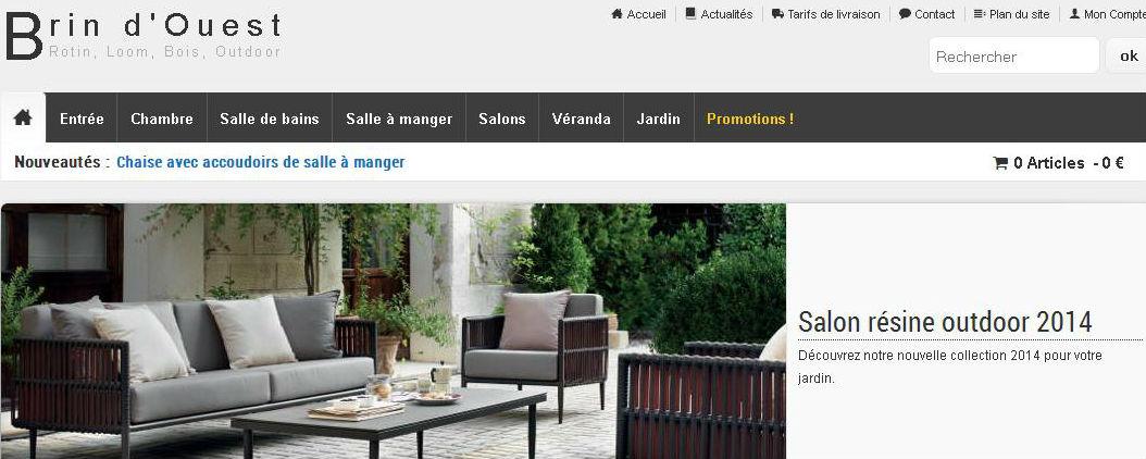 Mobilier rotin magasin au brin d 39 osier vente de meubles en rotin br - Site de vente de meubles ...