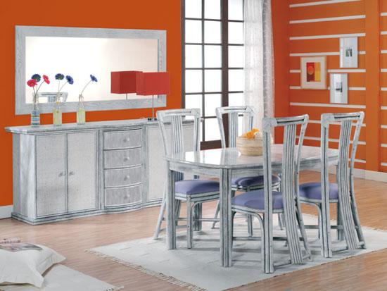 Ensemble table et chaise de salle manger - Meuble rotin pas cher ...